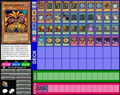 Exodia Deck List 2012 by Deck Exodia