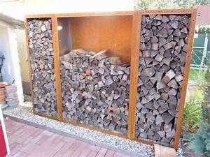 Gartenschrank Für Den Außenbereich : kaminholzregale aus metall f r den au enbereich langlebig ~ Michelbontemps.com Haus und Dekorationen