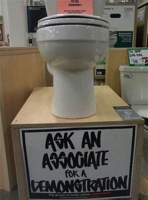 Funny Toilet Memes - funny home depot 15 pics