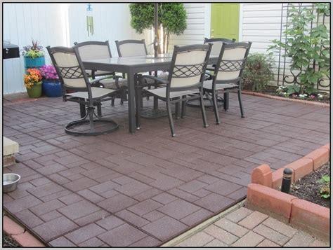 rubber patio pavers 24 215 24 patios home design ideas
