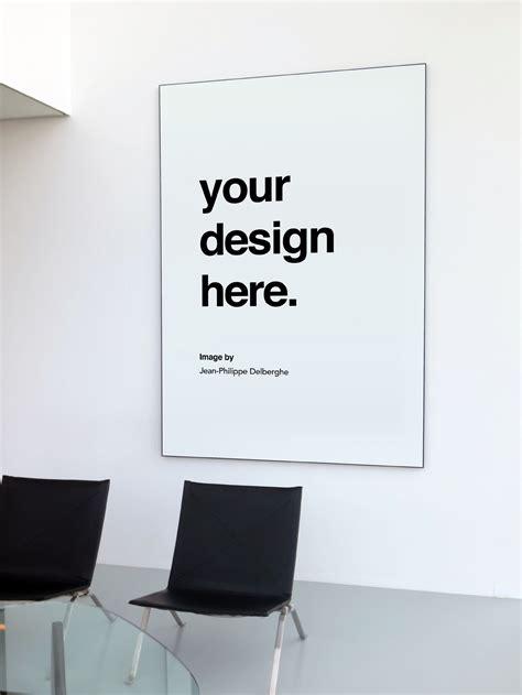indoor poster mockup