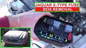 How To Remove And Replace The Engine Fuse Box On Jaguar X