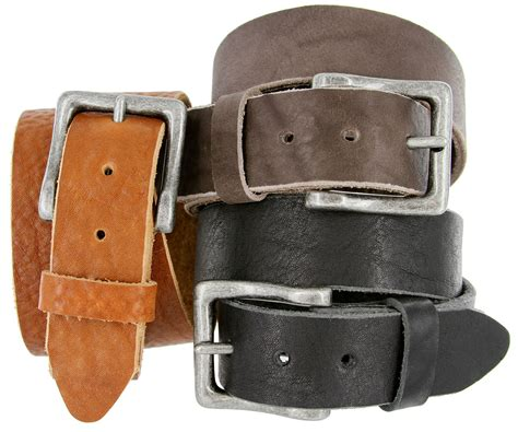 Grain Cowhide Leather - grain cowhide casual leather belt 1 1 2 quot wide