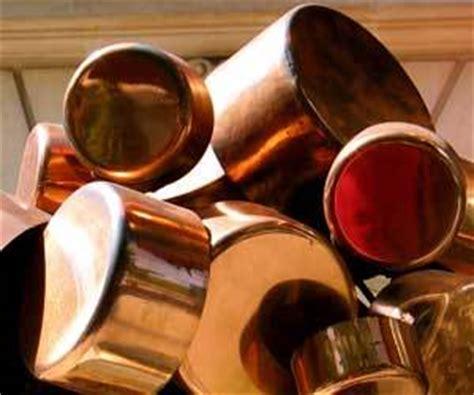 clean copper cookware
