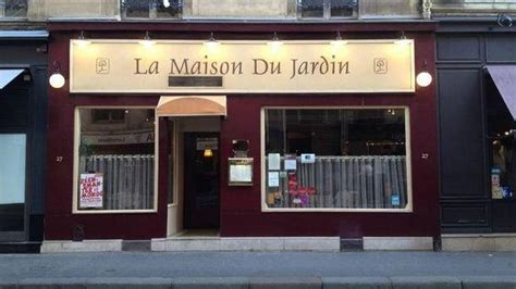 la cuisine du jardin la maison du jardin in restaurant reviews menu