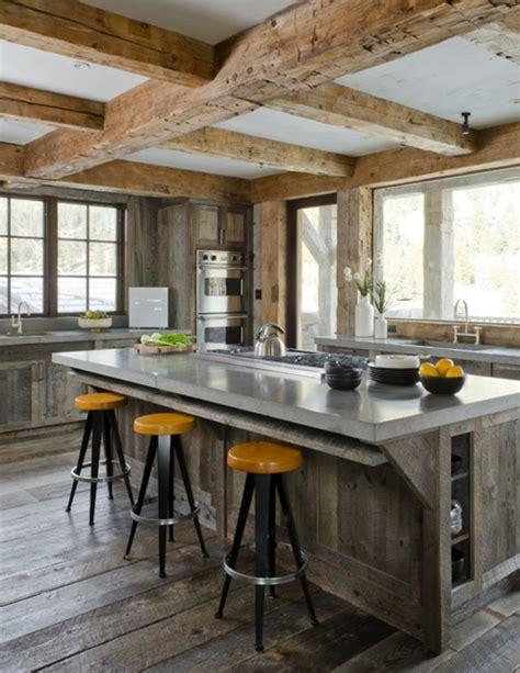 les plus cuisine moderne les plus belles cuisines rustiques en images archzine fr