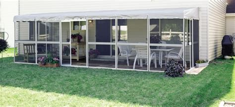 patio mate screened enclosure 217 sq ft white frame