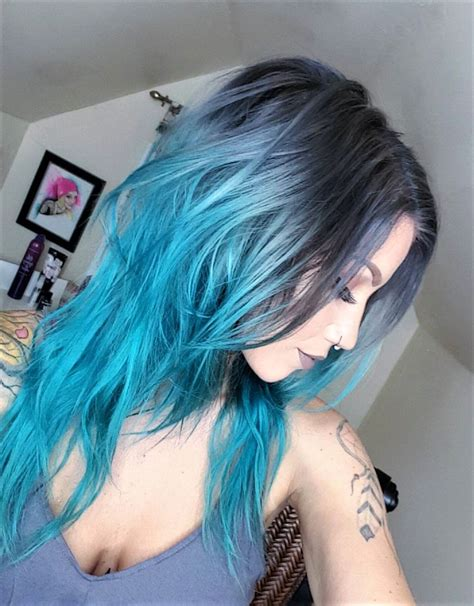 21 Blue Hair Ideas That Youll Love Long Curly