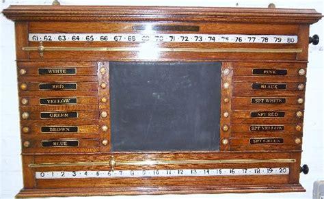 antique life pool scoreboard burroughes  wattsoak