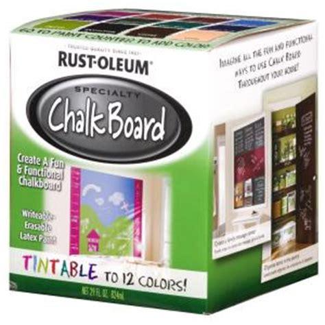 rust oleum specialty 29 oz tintable chalkboard paint