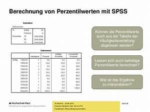 Häufigkeitsverteilung Berechnen : einf hrung in spss ~ Themetempest.com Abrechnung