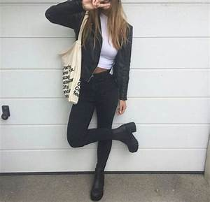Black Heels Outfit Tumblr