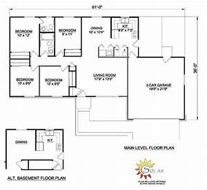 Simple Single Story Ranch House Plans - Escortsea