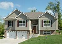 split level homes Attractive Split-Level Home Plan - 75005DD | Architectural ...