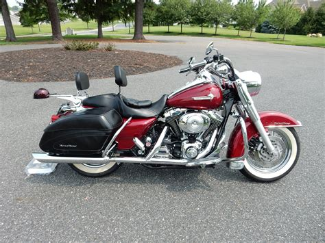 2004 Harley-davidson® Flhrs/i Road King® Custom (lava Red