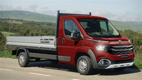 Peugeot Boxer 2020 by Render Fiat Ducato Chassi 2020 Facelift Ducatoro