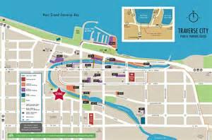 Downtown Traverse City Michigan Map