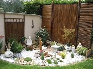 Cailloux Blanc Pas Cher : jardin zen par jeremy tchoulfayan sur l 39 internaute ~ Dailycaller-alerts.com Idées de Décoration