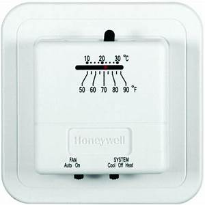 Honeywell Economy Heat  Cool Manual Thermostat Ct31a 85267262415