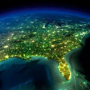 25 Incredible Images of Earth at Night Captured from Space ...