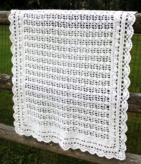 baby blanket crochet crocheted baby blanket big a little a