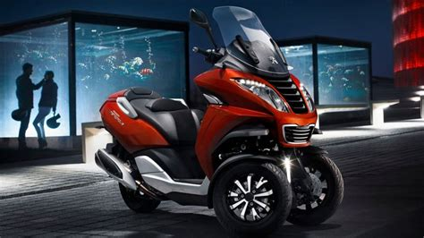scooter 3 roues peugeot peugeot lance enfin scooter 224 trois roues