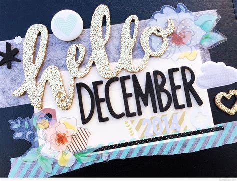 Awesome Hello December Desktop Backgrounds Sayings