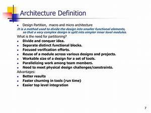 PPT - SoC Desig... Architecture Definition