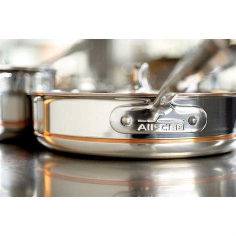 clad pc copper core cookware set lifetime warranty