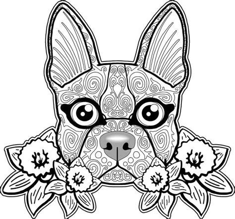Wielkanoc dla dzieci do druku online. Kolorowanki dla dorosłych: Psy do wydruku, część 2