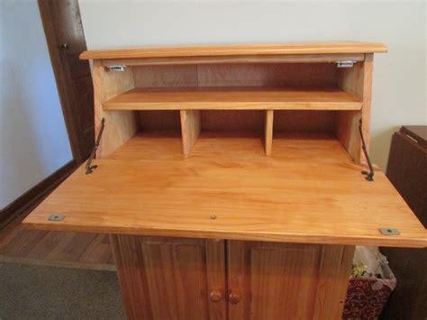 unfinished wood secretary desk small solid wood secretary desk discoverstuff