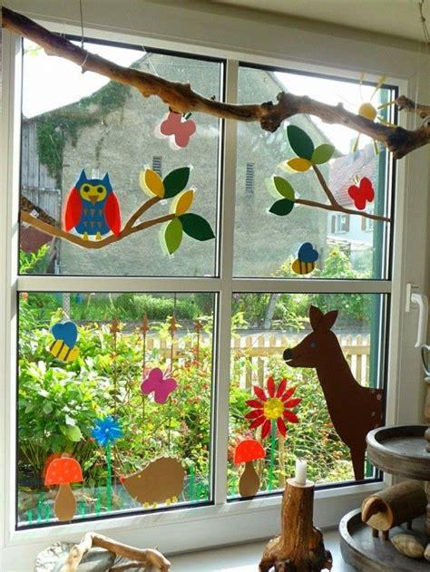 Herbst Fensterbilder Basteln by Die Besten 25 Fensterbilder Basteln Ideen Auf