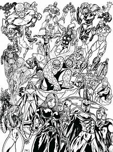 Marvel, Superheroes, By, Ahmed