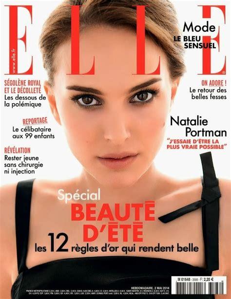 Natalie Portman For Elle France May Desifunblog