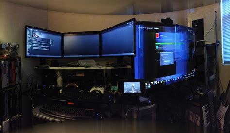 Console Gaming Setup Ideas Video Game Best Room Ever Pc Battlestation Desk Cheap Battle Station
