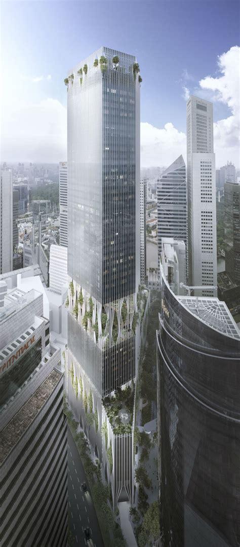 Upcoming Skyscraper Capitaspring Secures Morgan
