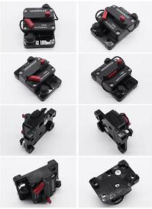 Electronic Auto Reset Manual Reset Car Circuit Breaker