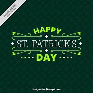Happy st. patrick's day decorative background Vector ...