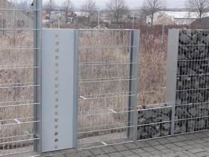 Edelstahl Sichtschutz Metall : gabionen sichtschutz zaun alles f r haus und garten aus metall ~ Orissabook.com Haus und Dekorationen