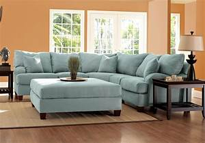 blue microfiber sectional sofa living room astonishing With blue sectional sofa