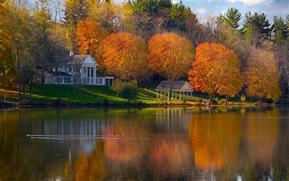 Fall Autumn Landscape Wallpapersafari