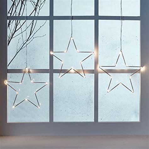 Fensterdeko Weihnachten Licht by 3 St 252 Ck Weihnachtsstern Beleuchtung Yunlights Fenster