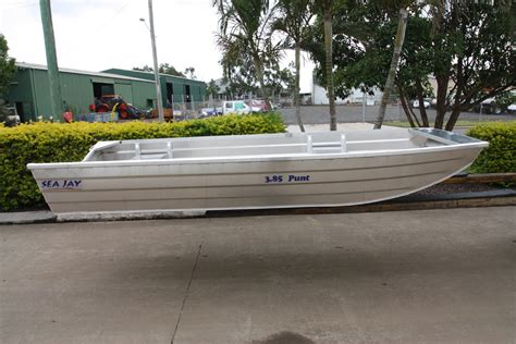 Punt Boat For Sale Bundaberg by Sea Jay Aluminium Boats Square Nose Punt Sea Jay