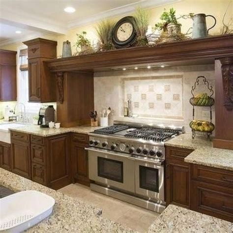 plants above kitchen cabinets decorating above kitchen cabinets tuscan style kitchen 8902
