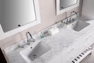 bathroom vanities with tops choosing the right countertop material traba homes