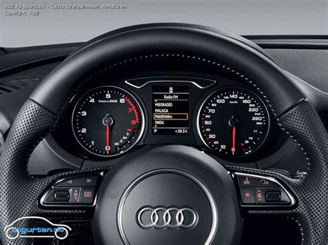 Foto Audi A3 Sportback - Tacho, Drehzalmesser, Armaturen ...