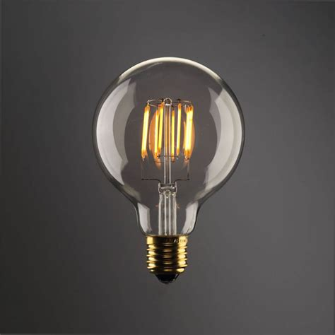 round led light bulbs led bulb light round 8w filament e27 dimmable gold colour