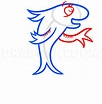 How To Draw The Fish From Dr Seuss, Step by Step, Drawing ...