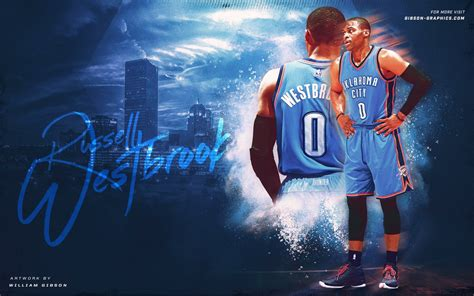 Russell Westbrook Artwork By Gibsongraphics On Deviantart