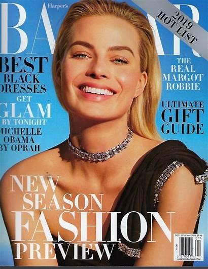 Bazaar Magazine Robbie Margot Harper December January